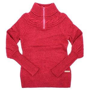 COLUMBIA She Pines For Alpine 1/2 Zip Knit Sweater